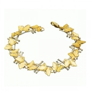 Золотой браслет Aldzena с бриллиантами