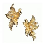 Золотые серьги Aldzena с бриллиантами