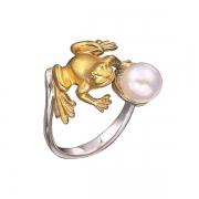 Золотое кольцо Aldzena с бриллиантами