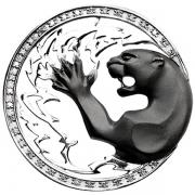 Золотой кулон Aldzena с бриллиантом