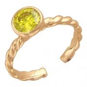 Золотое кольцо с вставкой шпинель