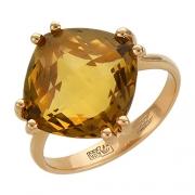 Золотое кольцо с вставкой иолит