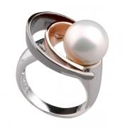 Серебряное кольцо AS с жемчугом