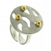 Серебряное кольцо AS