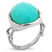 Серебряное кольцо Sandara c амазонитом