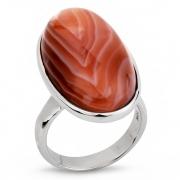 Серебряное кольцо Sandara c агатом