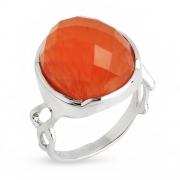 Серебряное кольцо Sandara c карнелианом