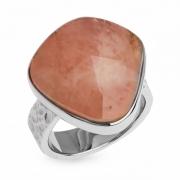 Серебряное кольцо Sandara c морганитом