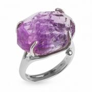 Серебряное кольцо Sandara c аметистом