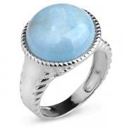 Серебряное кольцо Sandara с аквамарином