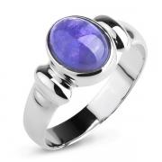Серебряное кольцо Sandara с танзанитом