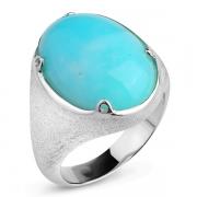 Серебряное кольцо Sandara с амазонитом