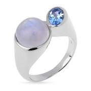 Серебряное кольцо Sandara с лунным камнем