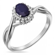 Серебряное кольцо Sandara