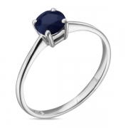 Серебряное кольцо Sandara с сапфиром