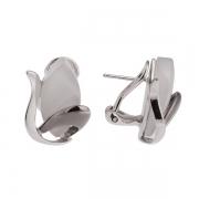 Серебряные серьги AS с кварцем