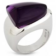Серебряное кольцо AS с аметистом