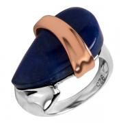 Серебряное кольцо AS с лазуритом
