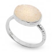 Серебряное кольцо Yaffo с друзой