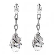 Серебряные серьги Hot Diamonds с бриллиантами и кристаллами Сваровски