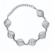 Серебряный браслет Hot Diamonds с бриллиантами