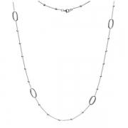 Серебряное колье Hot Diamonds с бриллиантом