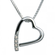 Серебряный кулон Hot Diamonds с бриллиантами