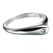 Серебряное кольцо Hot Diamonds с бриллиантом