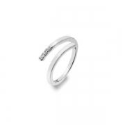 Серебряное кольцо Hot Diamonds с бриллиантом и фианитами