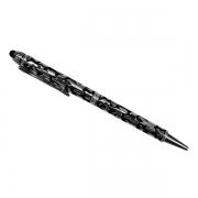 Ручка с покрытием серебро с эмалью и стилусом