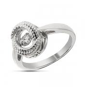 Серебряное кольцо Sandara Ice с танцующим фианитом