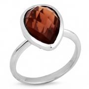 Серебряное кольцо Sandara c кварцем