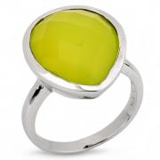 Серебряное кольцо Sandara с халцедоном