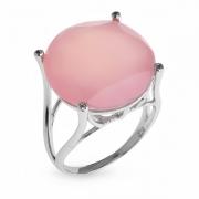Сереброяное кольцо Sandara с халцедоном