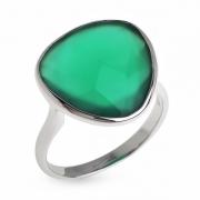 Серебряное кольцо Sandara с ониксом