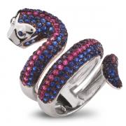 Серебряное кольцо Sandara с фианитом