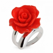 Серебряное кольцо с ювелирной смолой