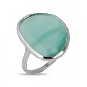 Серебряное кольцо Joli с тигровым глазом