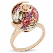 Серебряное кольцо с акрилом