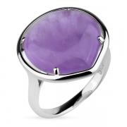 Серебряное кольцо Joli с аметистом