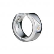 Мужская серебряная серьга Hot Diamonds с бриллиантом