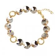 Серебряный браслет Monella с кристаллами Сваровски