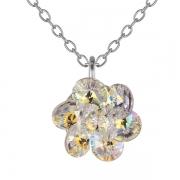 Серебряный кулон Monella с кристаллами Сваровски