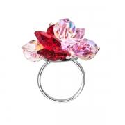Серебряное кольцо Monella с кристаллами Сваровски