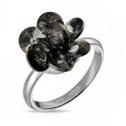 Серебряное кольцоMonella с кристаллами Сваровски