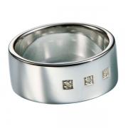Мужское серебряное кольцо Hot Diamonds с бриллиантами