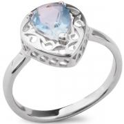 Серебряное кольцо Sandara с голубым топазом