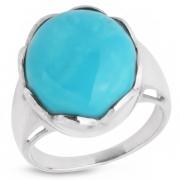 Серебряное кольцо Sandara c бирюзой