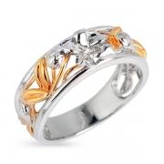 Серебряное кольцо Joli с позолотой