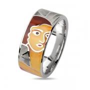 Серебряное кольцо из колекции Эмаль